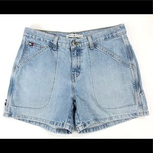 Vintage Tommy Hilfiger Mom Jean High Waist Shorts